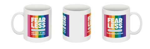 FEARLESS coffee mugs