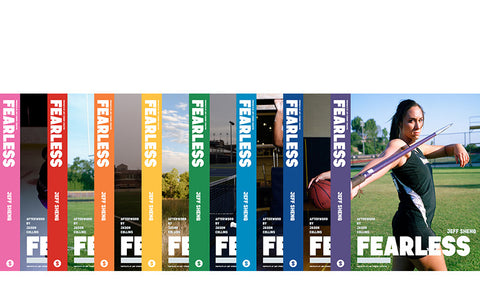 LIMITED EDITION SET of all 8 Books/Covers $275