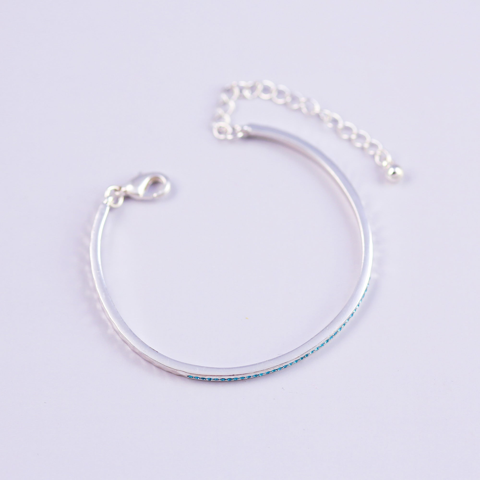 Silver & Turquoise Bangle