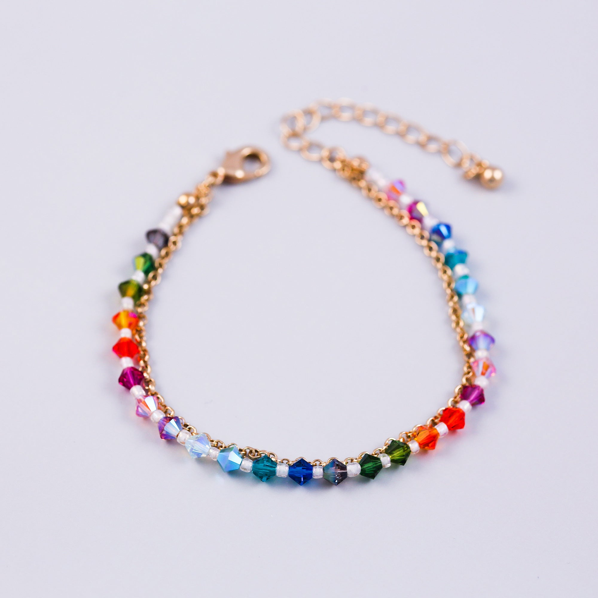 Gold Rainbow Element Bracelet