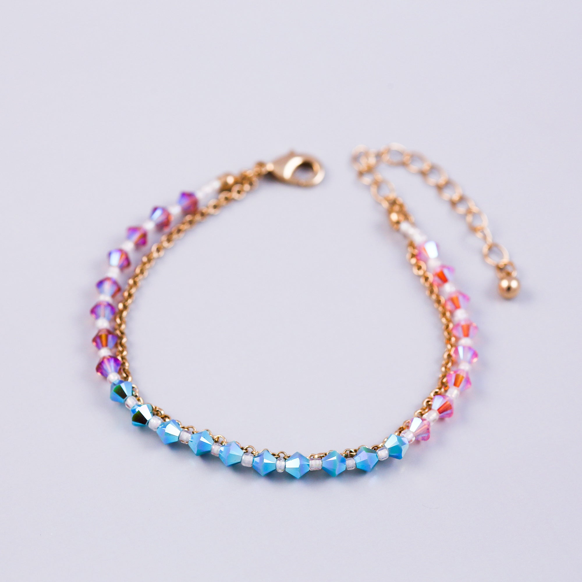 The Four Elements Earth Air Fire Water | Air Element Bracelet | Gold