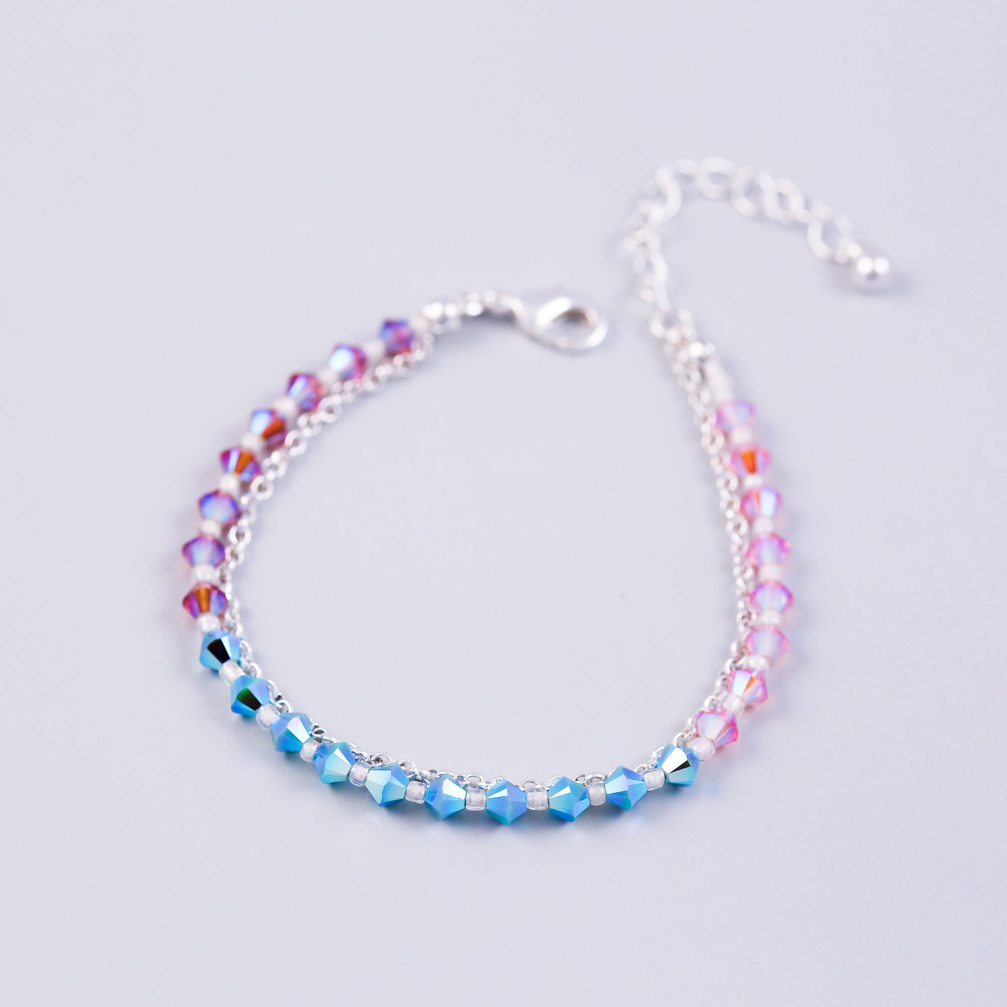 The Four Elements Earth Air Fire Water | Air Element Bracelet | Silver