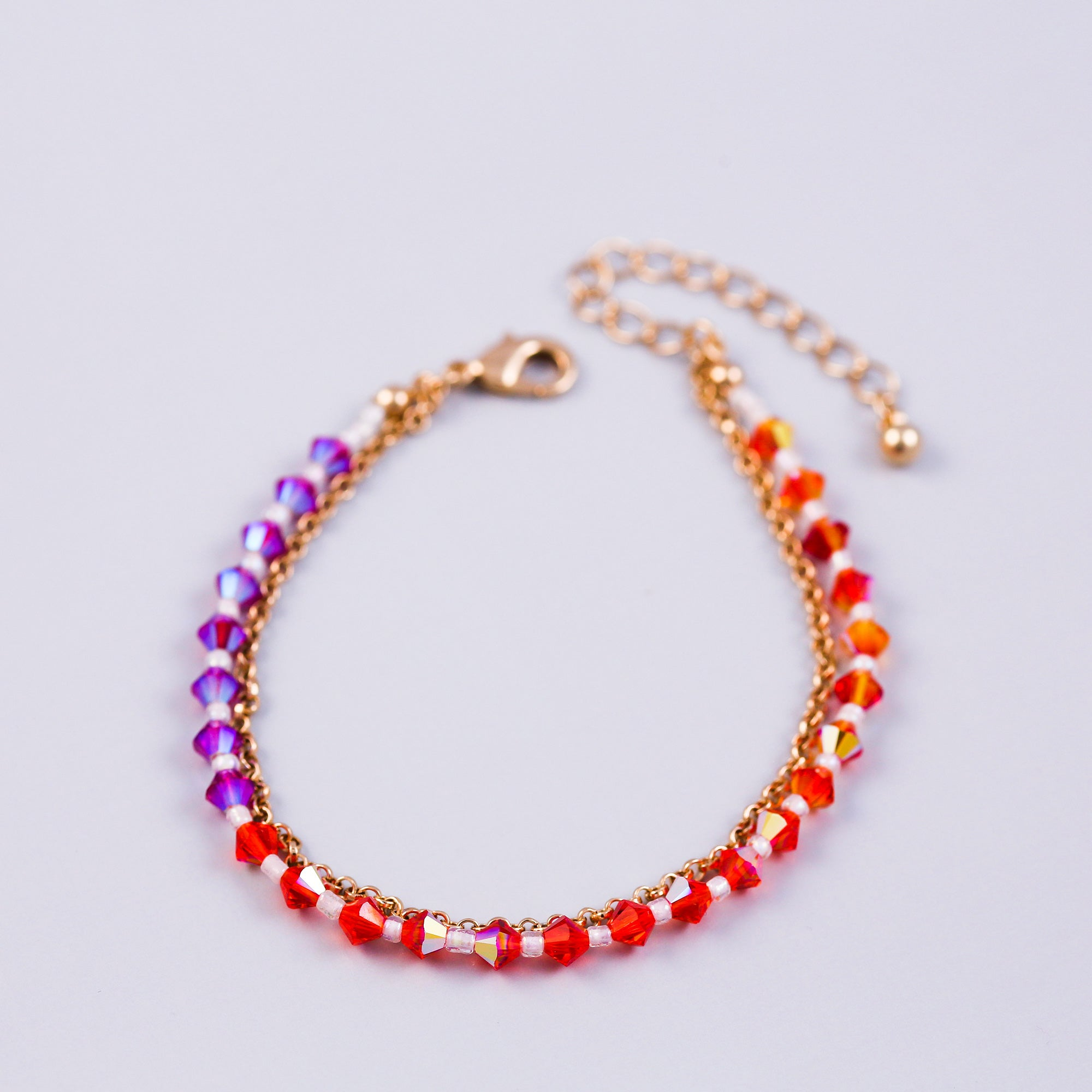 The Four Elements Earth Air Fire Water | Fire Element Bracelet | Gold