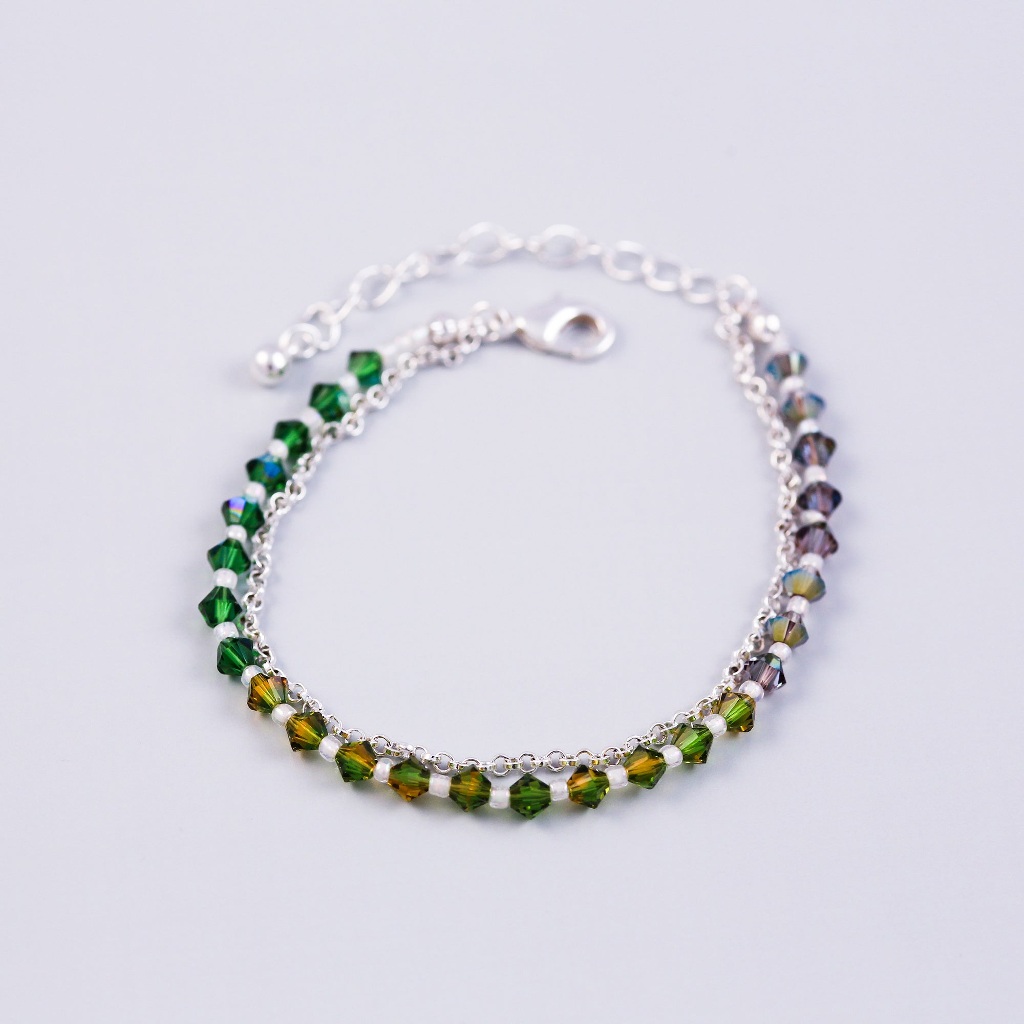 The Four Elements Earth Air Fire Water | Earth Element Bracelet | Silver