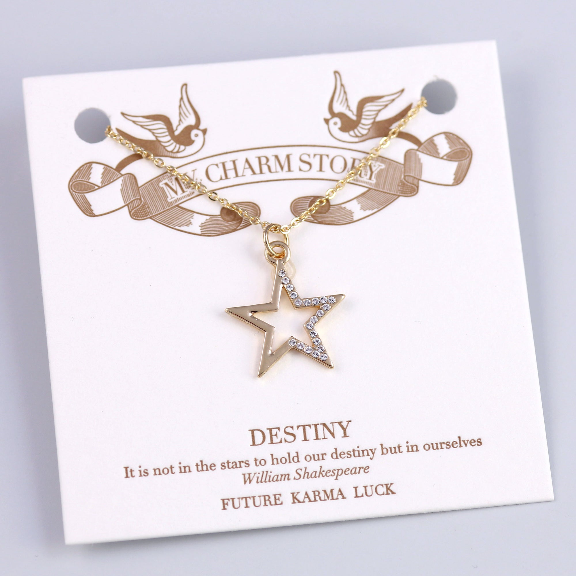 Gold Destiny Star My Charm Story Collection