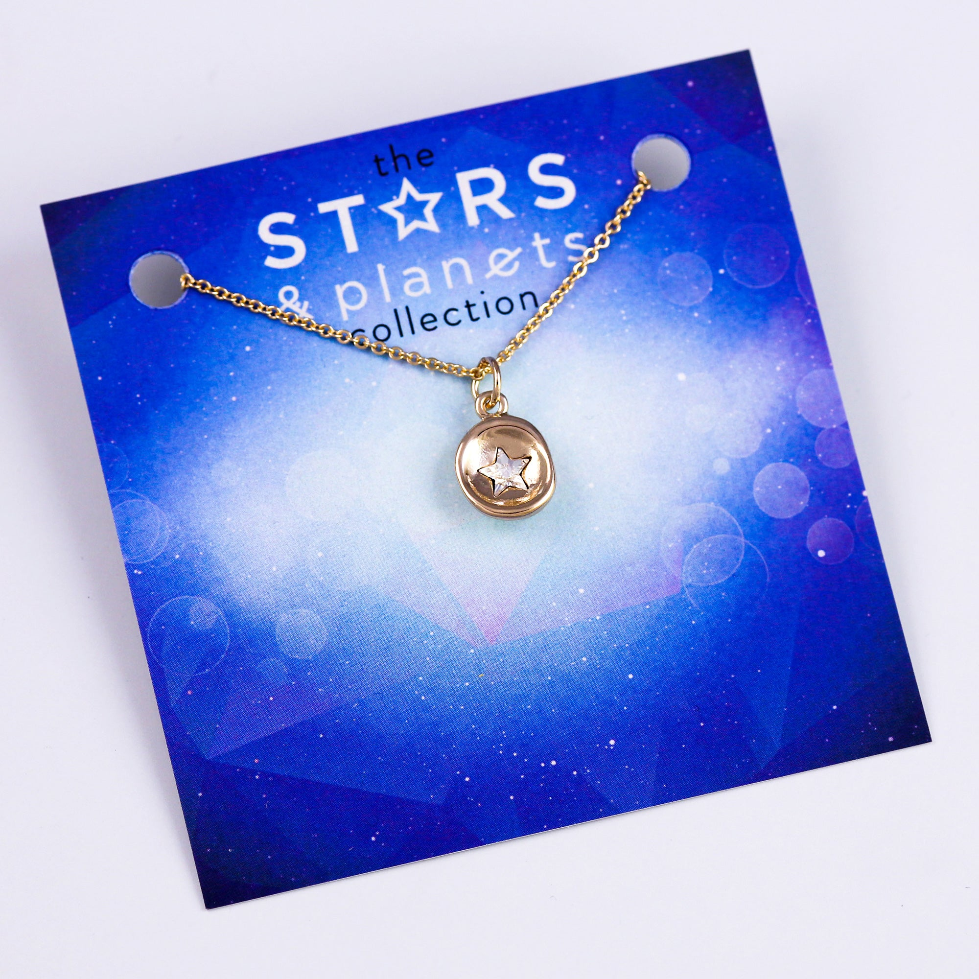 Gold Mini Star Necklace Stars & Planets Collection