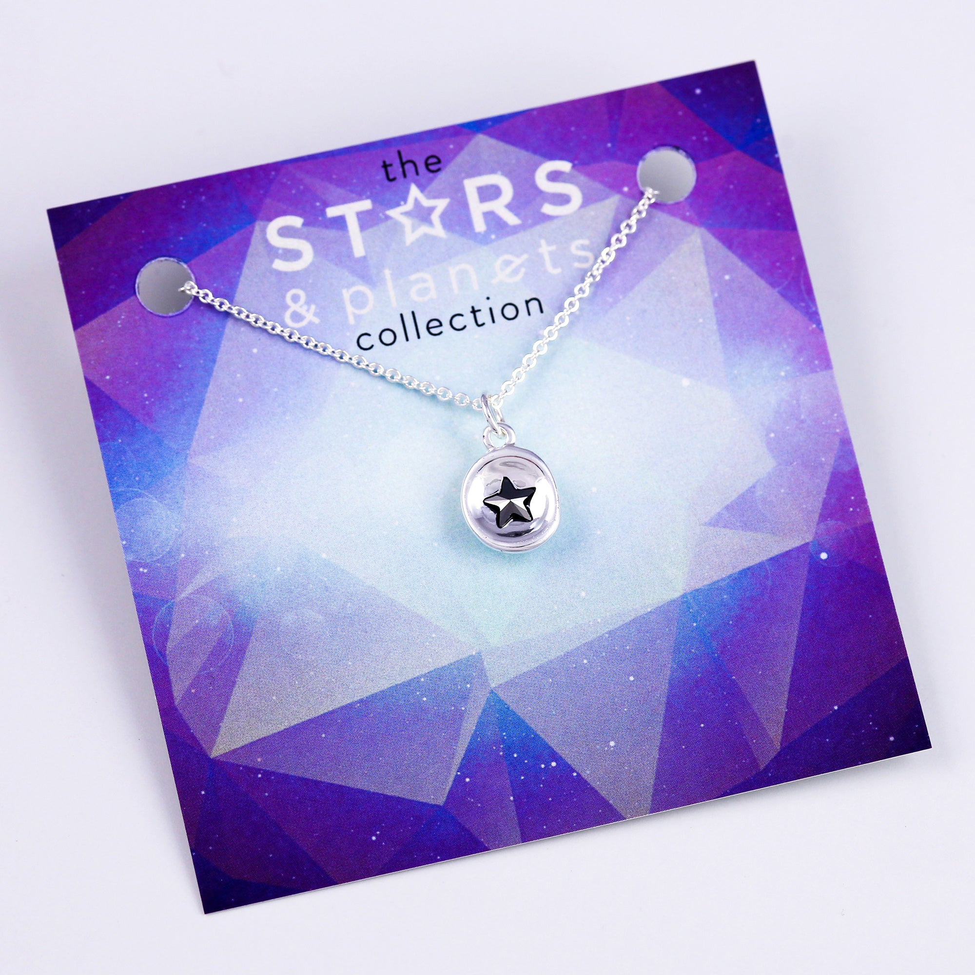 Silver Mini Jet Star Necklace Stars & Planets Collection