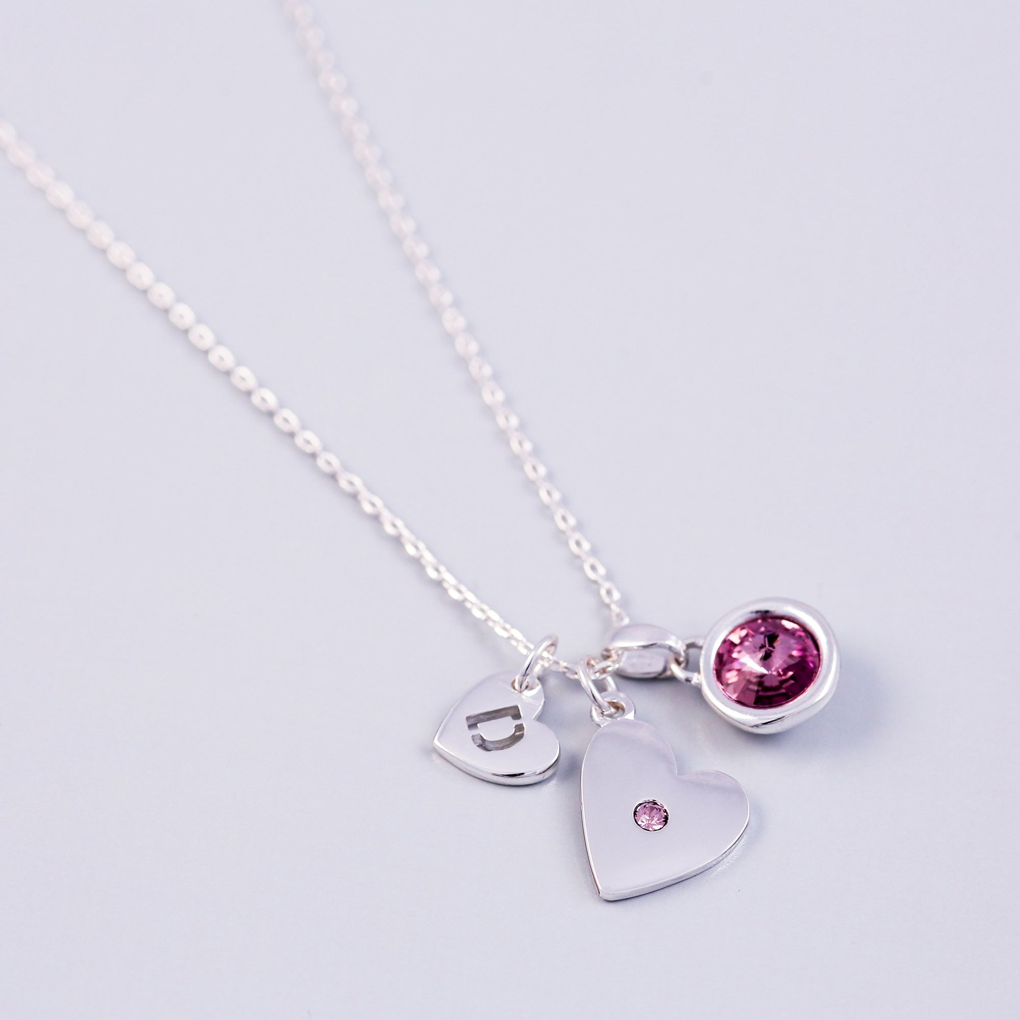 silver il june birthstone necklace zoom listing fullxfull with initial