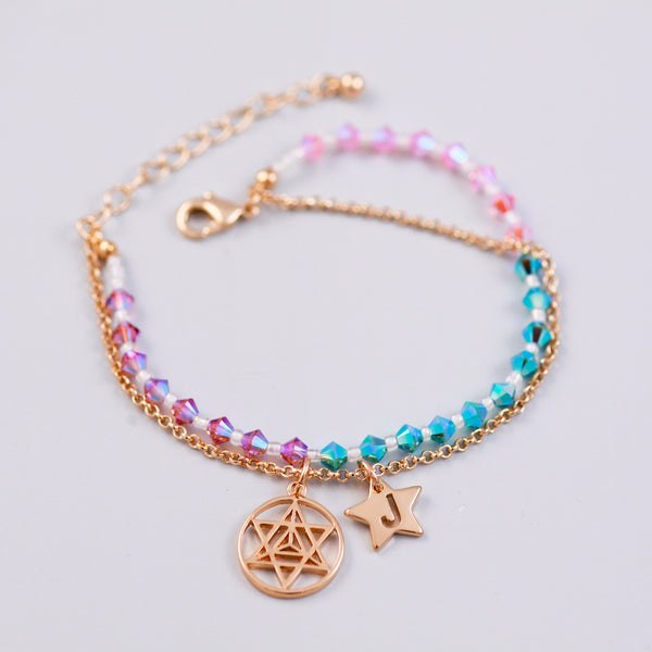 Four Elements Charm Bracelet in Air