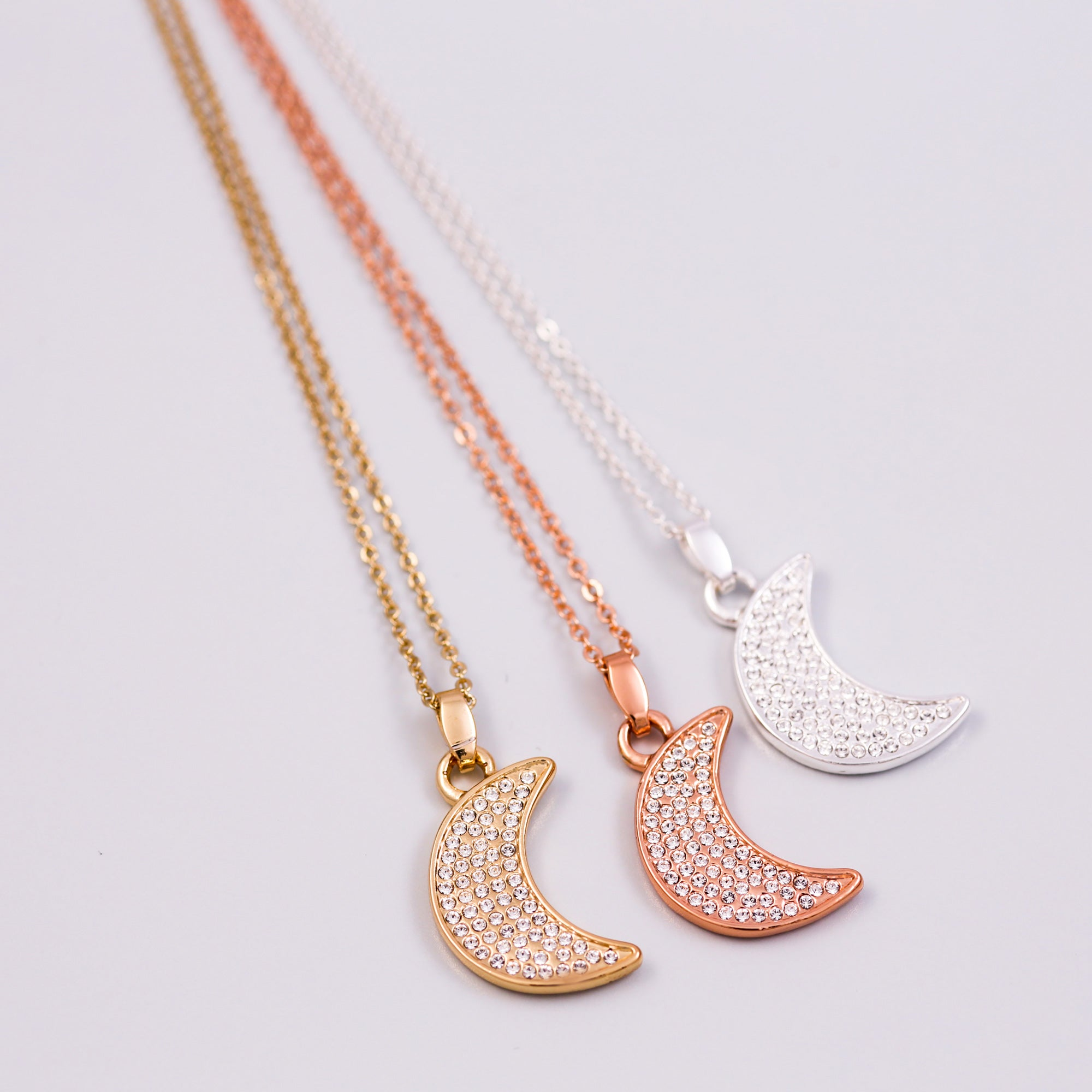 moon chain diamond necklacesun sun wishes moongold filled opal pendant necklace pin gold