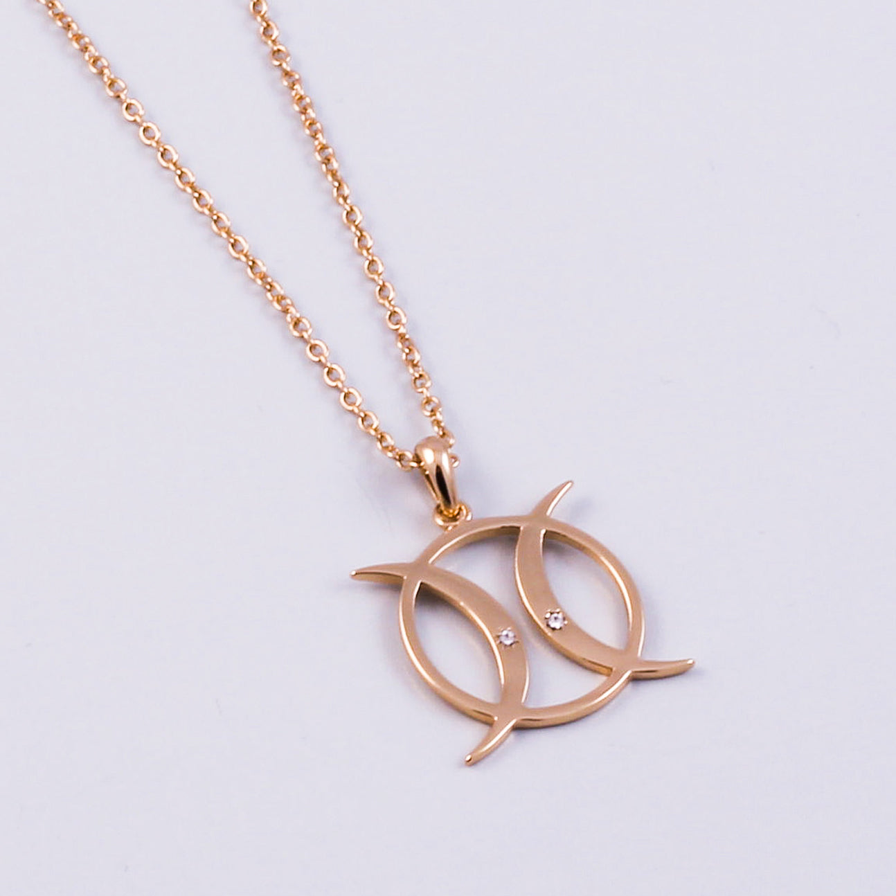 Triple Moon Necklace | Circle | Triple Moon Goddess | Gold