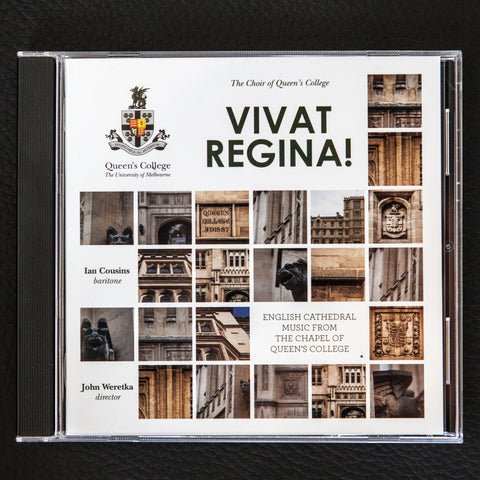 Vivat Regina! English cathedral music from The Choir of Queen's College