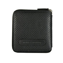 W474 Punched Dot Wallet - Black