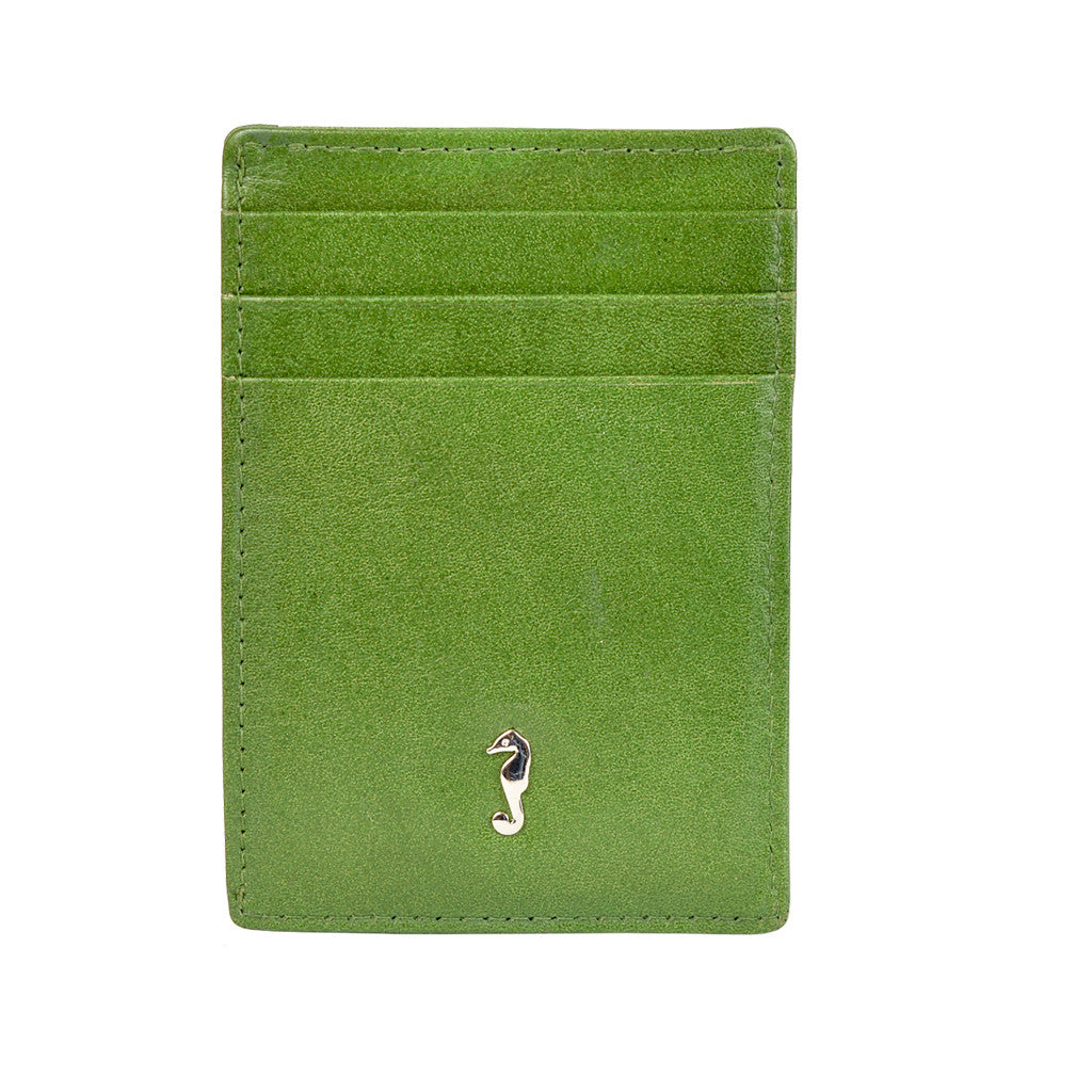 411 Card Wallet - Dark Green