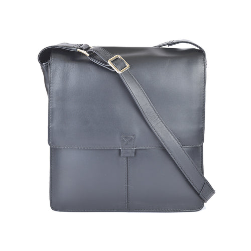 590 Square Sling Bag - Black