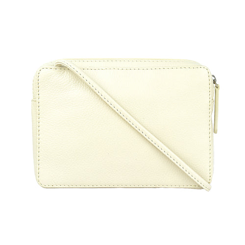 649/R Small Vanilla Crossbody Slingbag