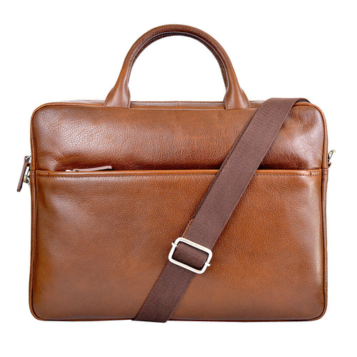 ALEX Work Bag - Rich Tan