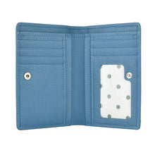 ALLY Small Fold Wallet - Cadet Blue