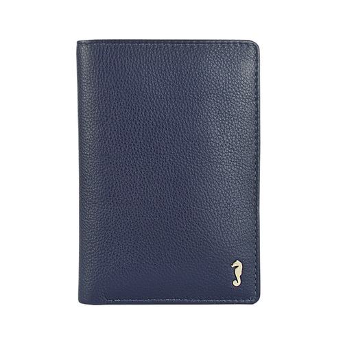 ALLY Small Fold Wallet - Crepe Blue