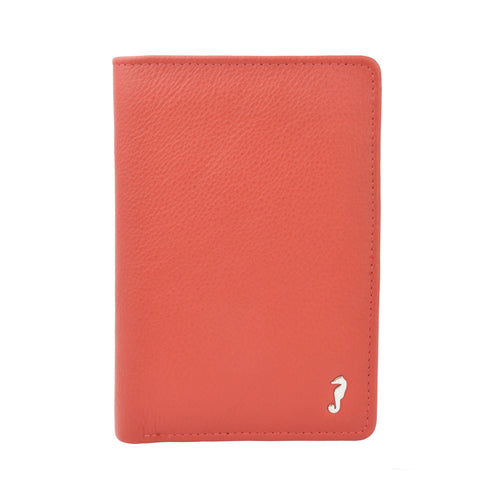 ALLY Small Fold Wallet - Red