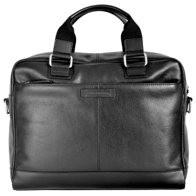 Cambridge Leather Work Laptop Business Bag Front On
