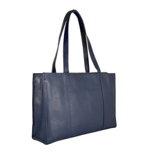 HANNAH Business Tote - Crepe Blue