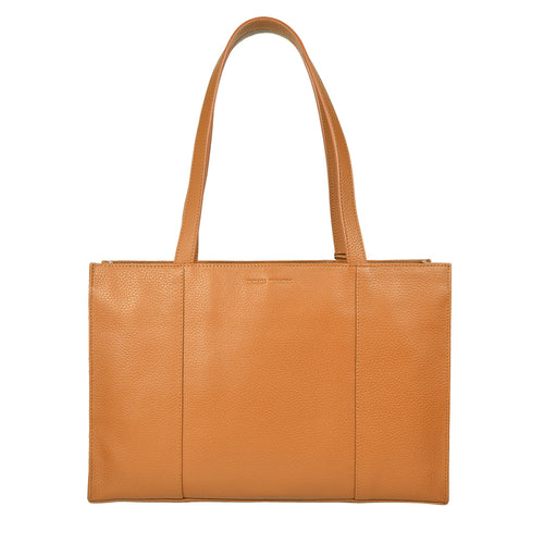 HANNAH Business Tote - Tan