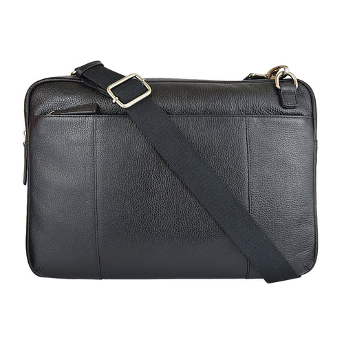 HENLY Computer Satchel - Black