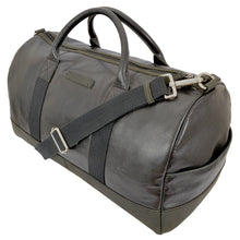 Henry Duffle Holdall Bag - Black