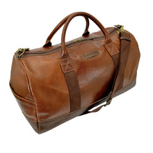 Henry Duffle Rich Tan Side On Image