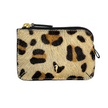 Holi Coin Purse Animal Print Front View