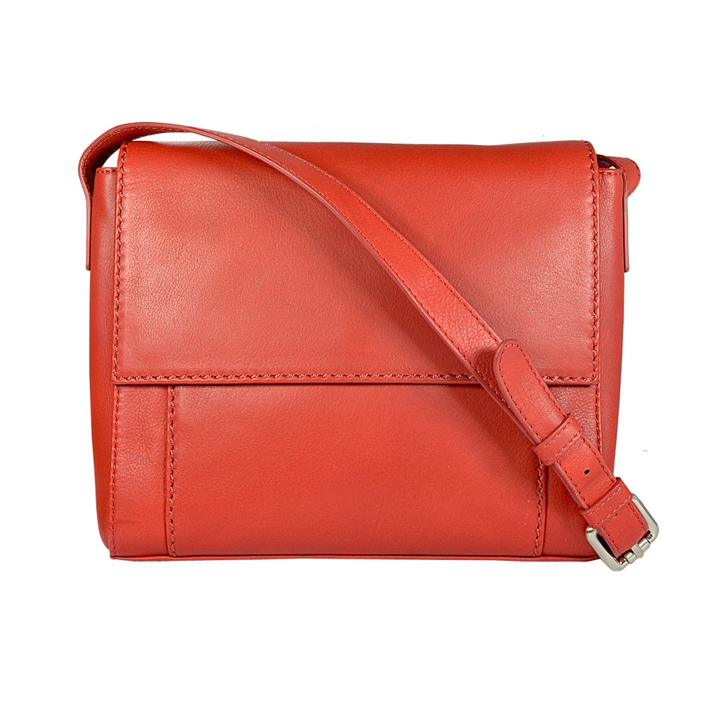 JESSICA Crossbody Bag - Red