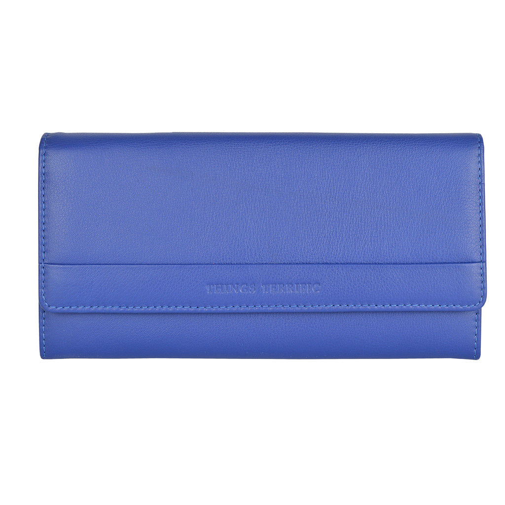 LILLY Clutch Wallet - Summer Blue