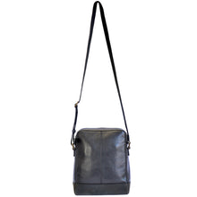 noah sling bag in black rear full view
