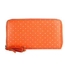 W387 Dot Wallet - Orange