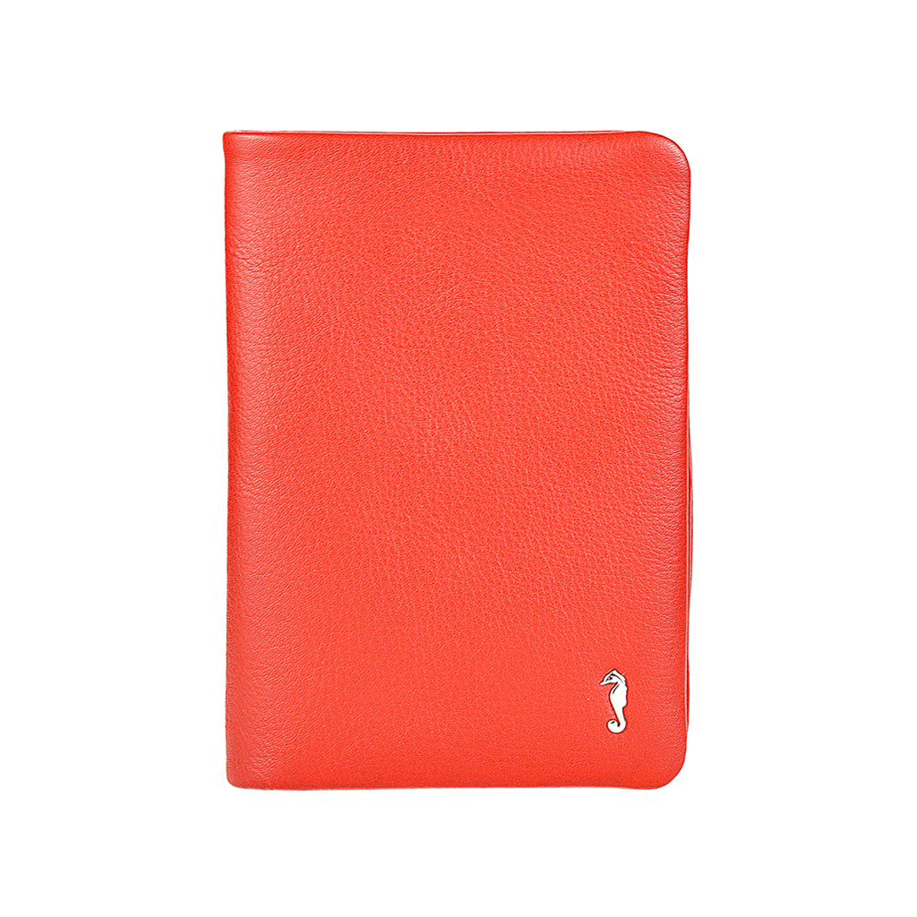 rosie soft fold wallet in red front view