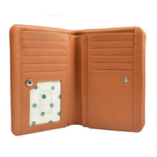 ROSIE Soft Fold Wallet - Tan