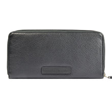 W381 Zip Around Wallet - Black