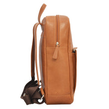 Brooklyn Backpack in Tan Side View