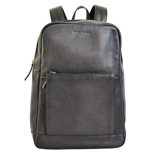Brooklyn Backpack in Black Front View