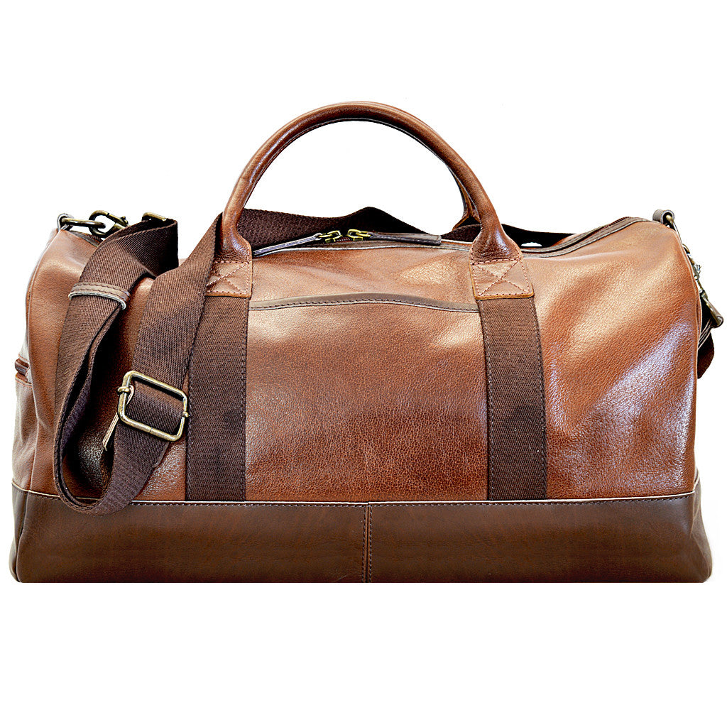 Henry Duffle Rich Tan Front Image