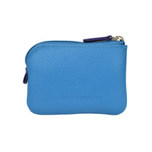 Holi Coin Purse Opal Blue Rear View
