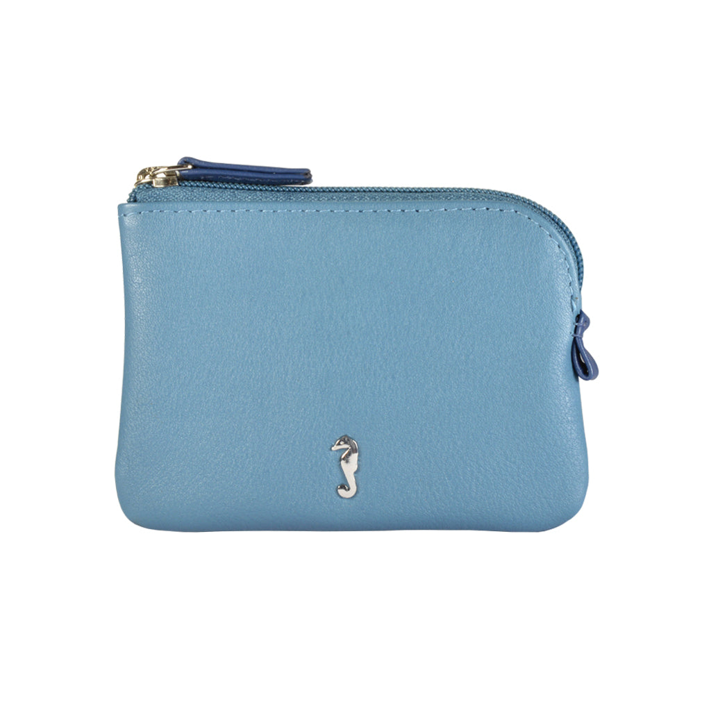 HOLI Coin Wallet - Cadet Blue