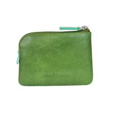 Holi Coin Purse Dark Green Rear View