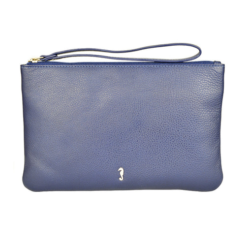 MILLY Clutch Wallet - Ink Blue