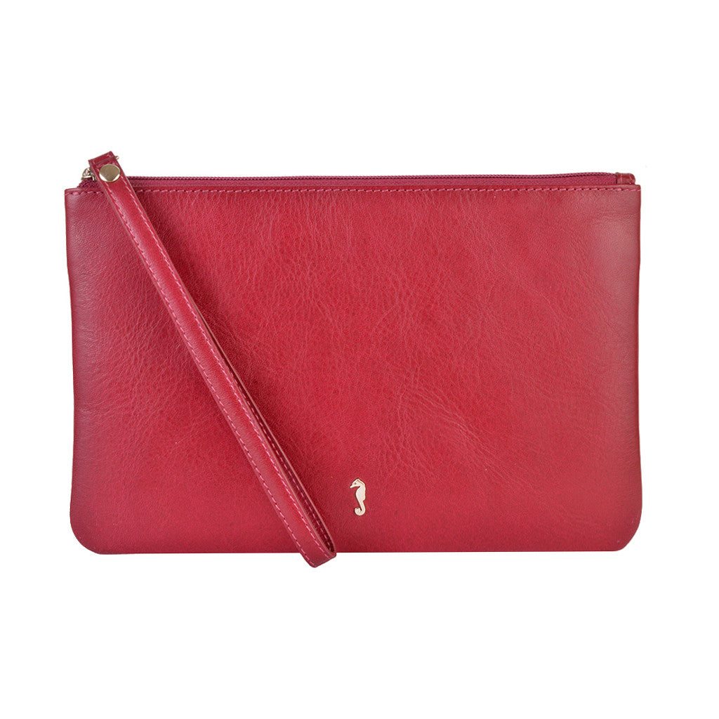 Milly Clutch - Ruby Red