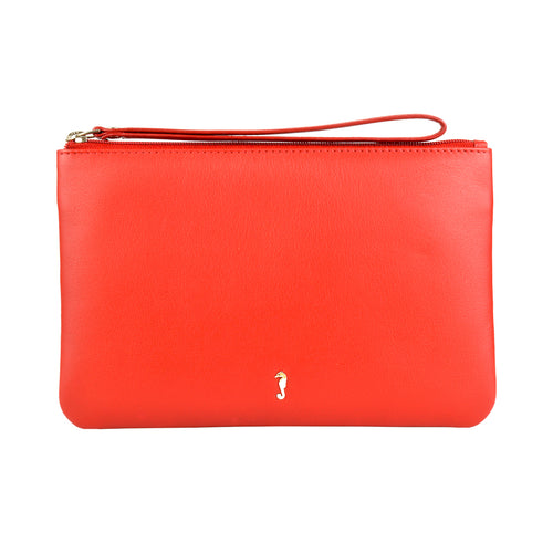 MILLY Clutch Wallet - Scarlett Red