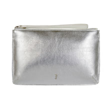 MILLY Clutch Wallet - Metallic Silver