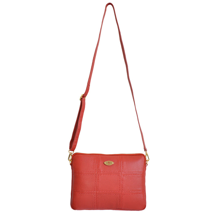 569 Clutch Sling Bag - Red