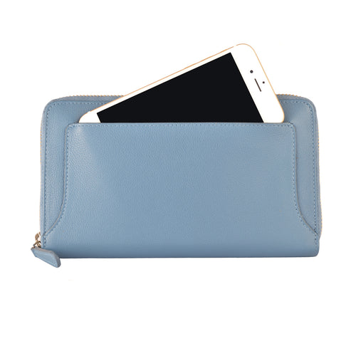 ZOE Wallet - Cadet Blue